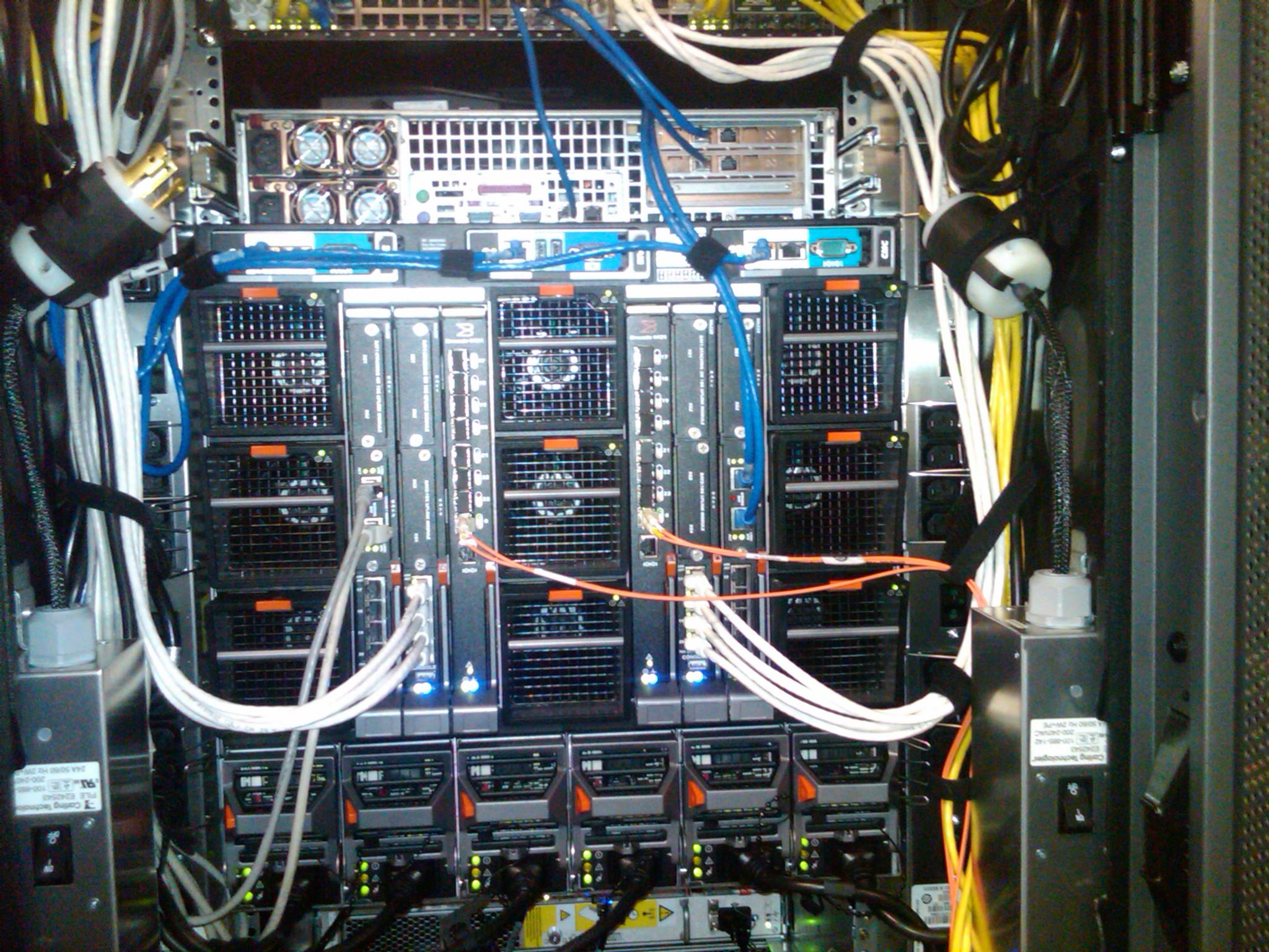 Apc Netshelter Sx 42u Enclosure Rackapc Rack Server Ar3100 A Quick Look At Vs Traditional Blade Ucs Wiring